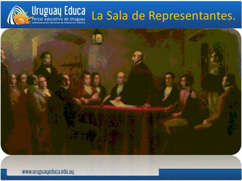 La Sala de Representantes.