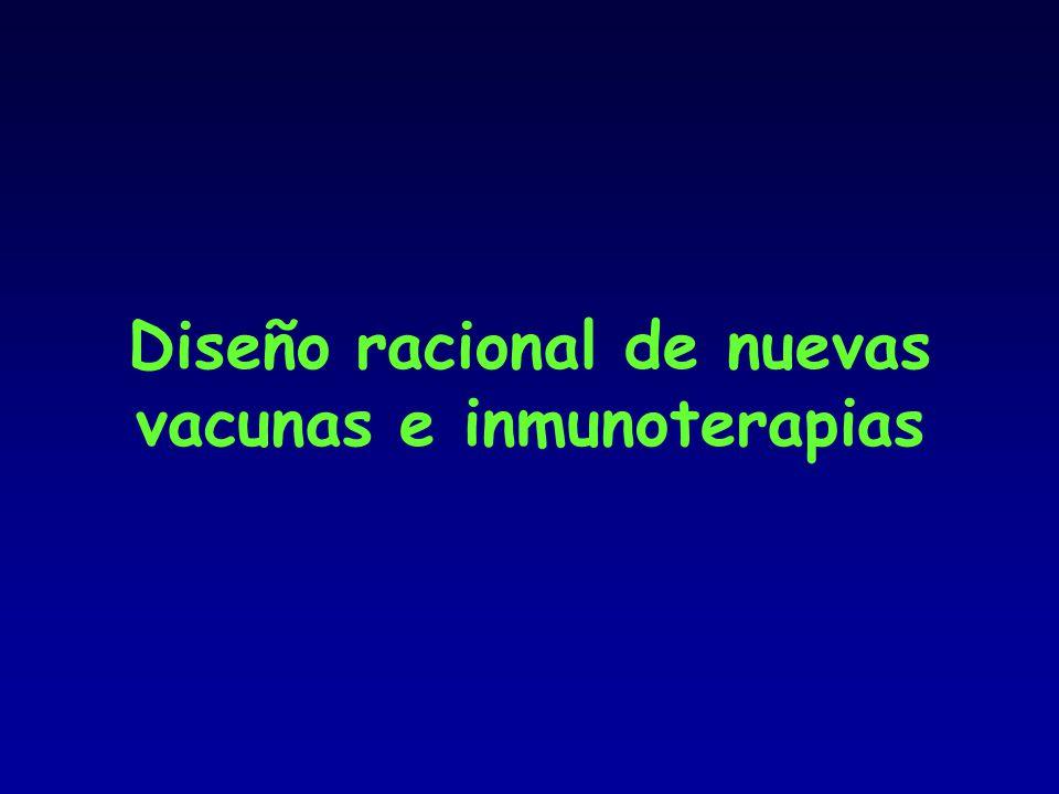 Diseño racional de nuevas vacunas e inmunoterapias