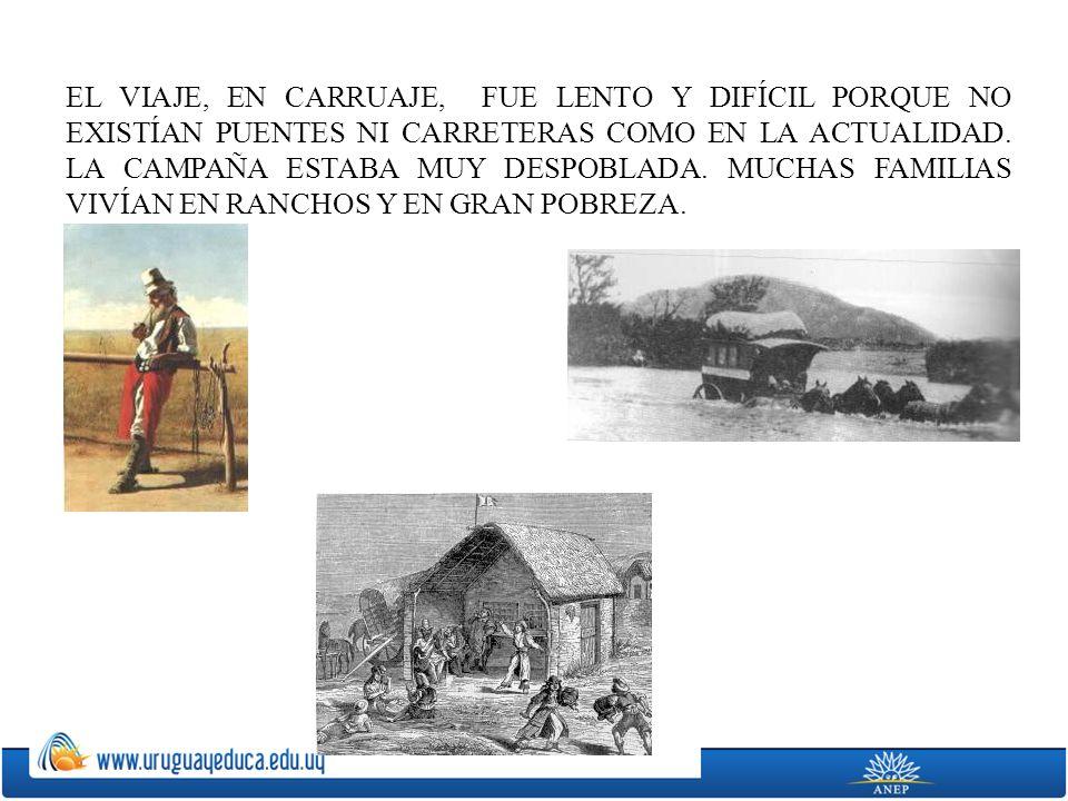 EN 1852 EL PRESIDENTE GIRÓ LLEGÓ AL PASO REAL DEL OLIMAR, DONDE ACTUALMENTE SE ENCUENTRA LA CIUDAD DE TREINTA Y TRES.