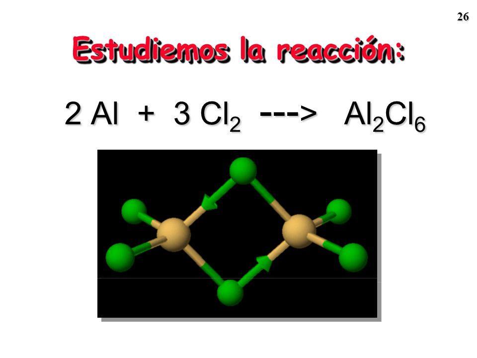 25 1 2 3 1 2 3 m Zn (g)7.003.271.31 n Zn(mol) 0.1070.0500.020 n HCl(mol) 0.1000.1000.100 n HCl/n Zn 0.93/12.00/15.00/1 R. limitante RL = HCl No RL = Z