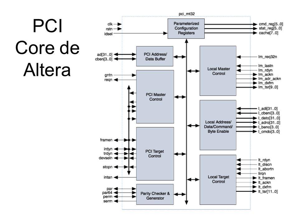 PCI Core de Altera