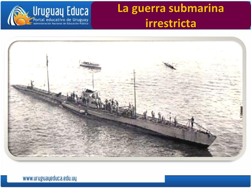 La guerra submarina irrestricta