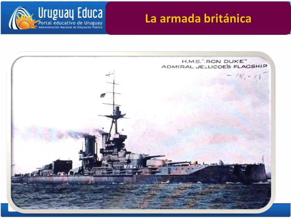 La armada británica