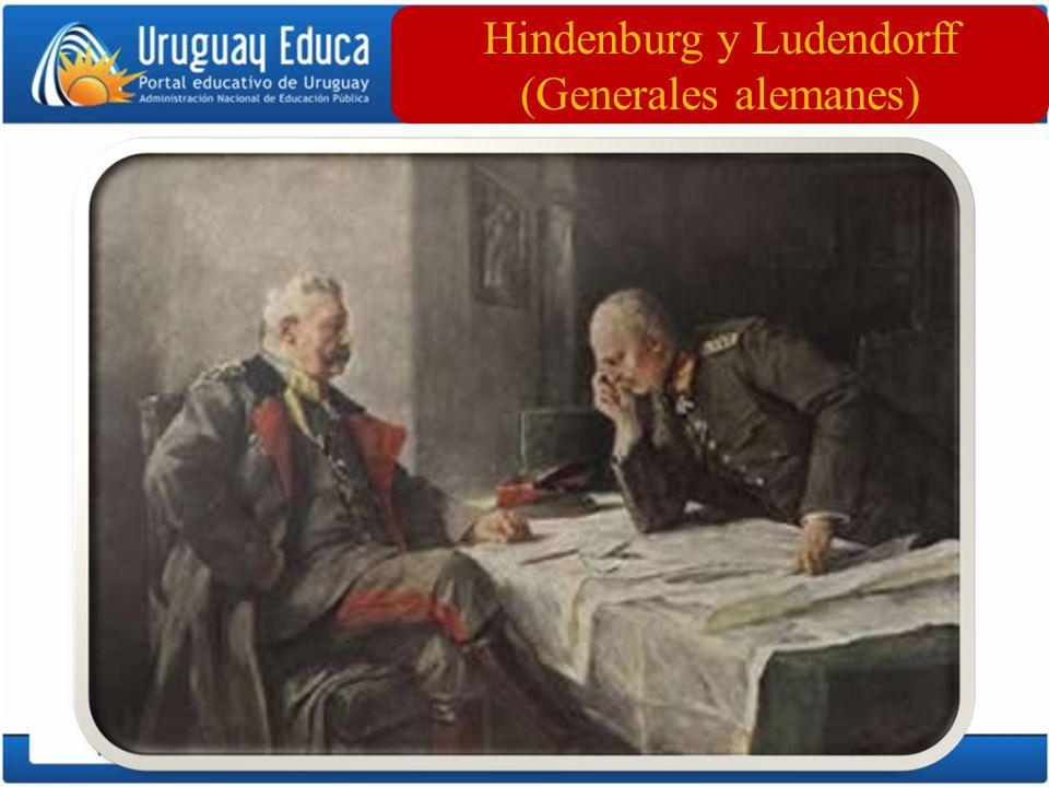 Hindenburg y Ludendorff (Generales alemanes)