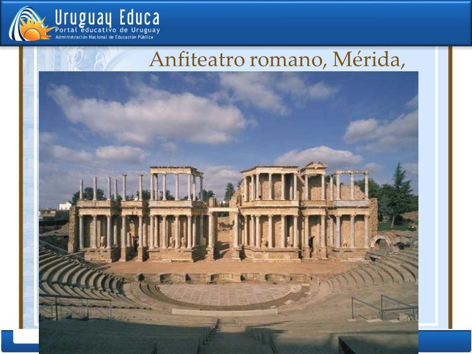 Anfiteatro romano, Mérida, España