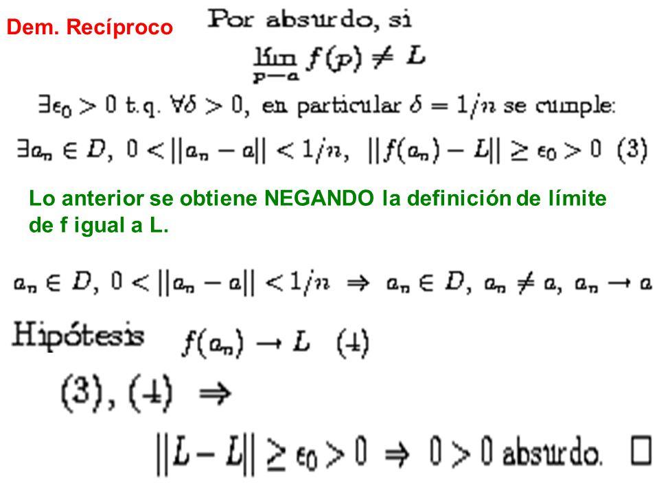 CLASE 7 PARTE 3: LÍMITE INFINITO Y LÍMITE CUANDO P TIENDE A INFINITO Cálculo Diferencial e Integral II.
