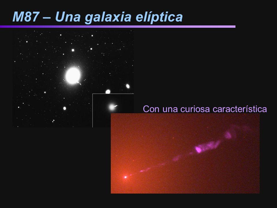 M87 – Una galaxia elíptica Con una curiosa característica