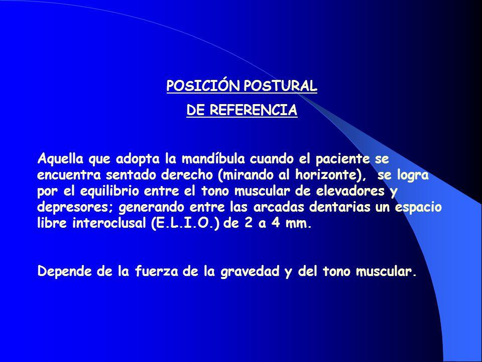 EQUILIBRIO DE LOS MÚSCULOS POSICIONADORES INERVACIÓN RECÍPROCA HIPERACTIVIDAD MUSCULAR
