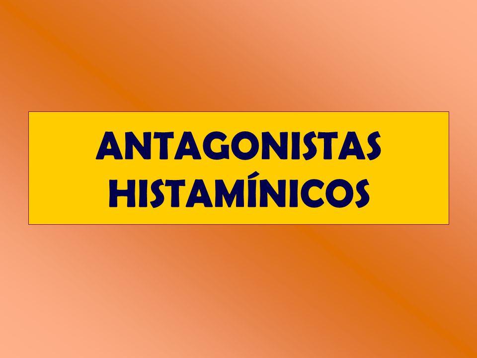 ANTAGONISTAS HISTAMÍNICOS