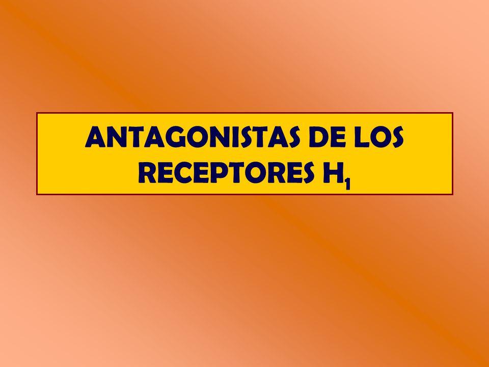 ANTAGONISTAS DE LOS RECEPTORES H 1