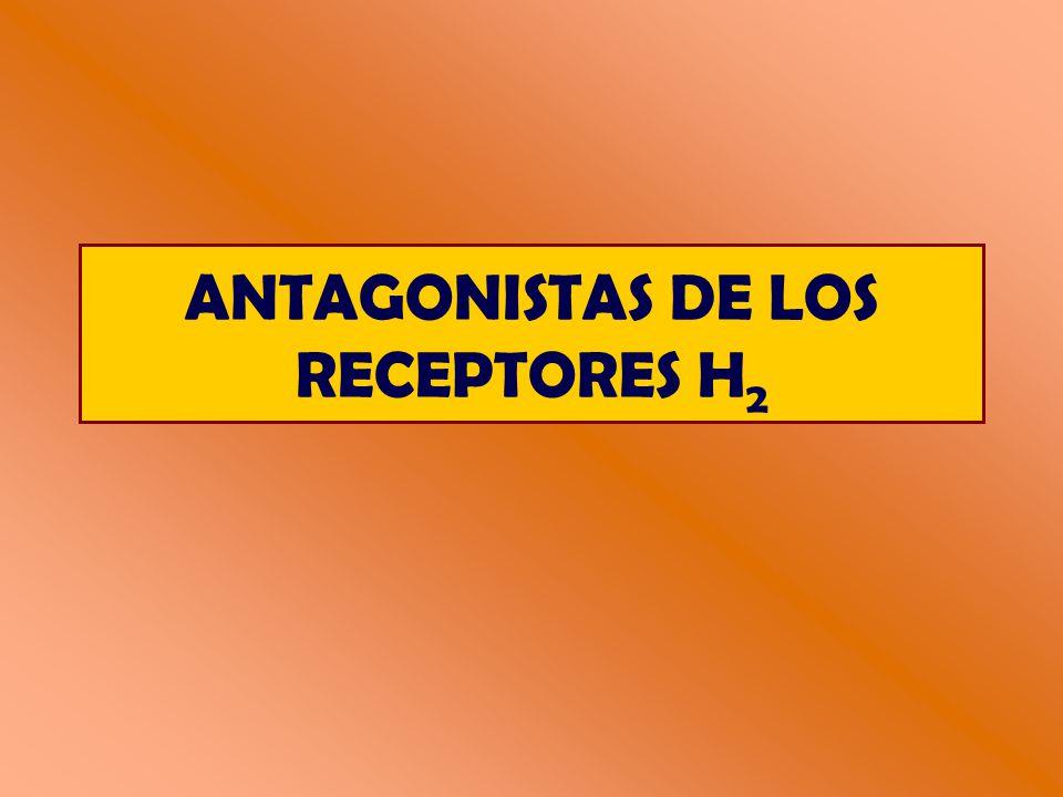 ANTAGONISTAS DE LOS RECEPTORES H 2