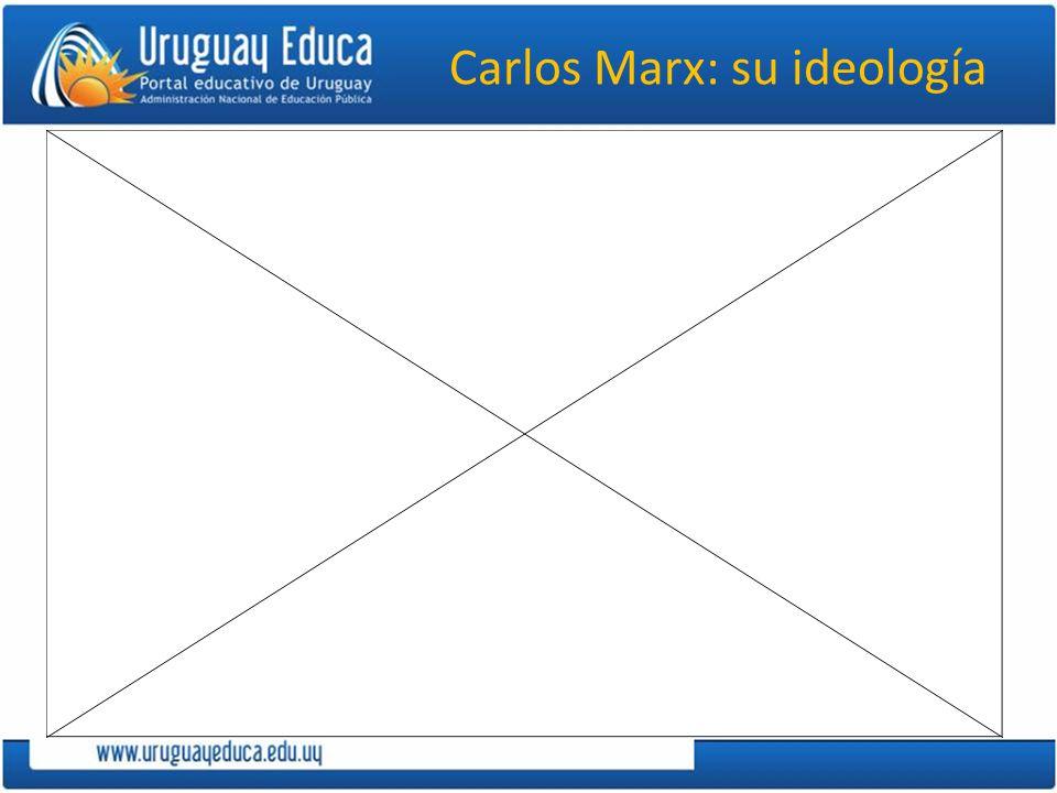 Carlos Marx: su ideología
