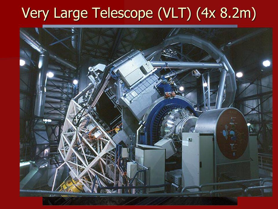 Very Large Telescope (VLT) (4x 8.2m)