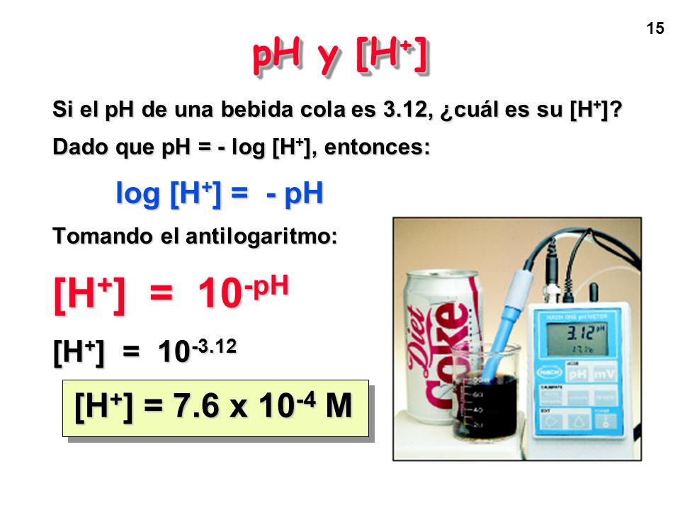14 Paso 4: Calcular el % de ácido málico 76.80 g de manzana necesitan 34.56 mL de NaOH 0.663 M para su titulación. ¿Cuál es el % en masa de ácido máli