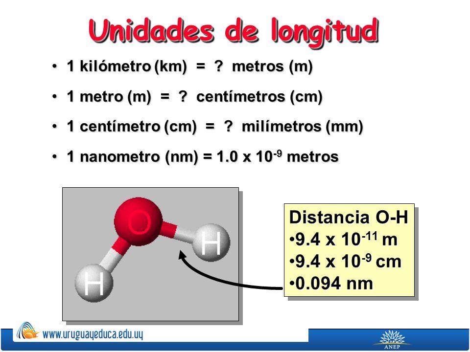 Unidades de longitud 1 kilómetro (km) = ? metros (m)1 kilómetro (km) = ? metros (m) 1 metro (m) = ? centímetros (cm)1 metro (m) = ? centímetros (cm) 1