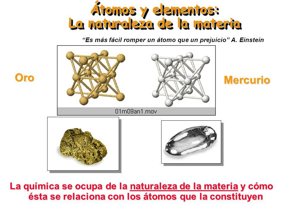 ÁTOMOS, MOLÉCULAS Y ELEMENTOS Basado en el trabajo del Prof.