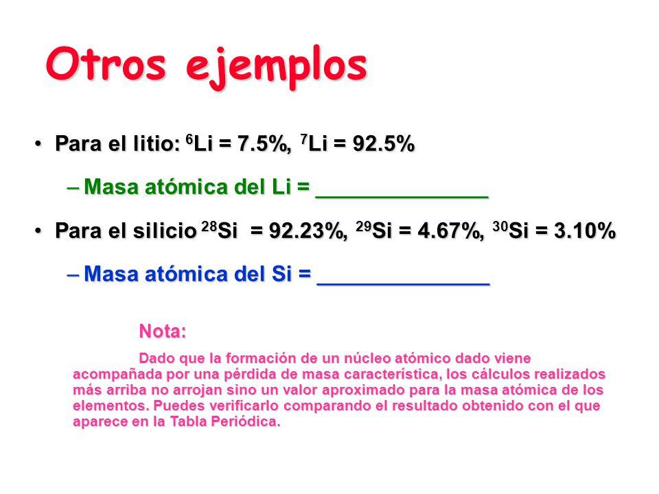 Isótopos del boro Debido a la existencia de isótopos, la masa de los átomos de una muestra de un elemento tiene un valor promedio.Debido a la existenc