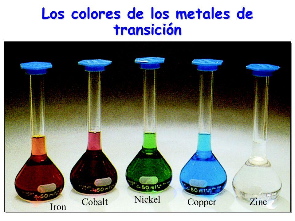 Gemas y minerales Safiro: Al 2 O 3 con impurezas de Fe 3+ o Ti 3+ adquiere color azul.