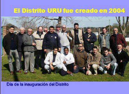 El Distrito URU fue creado en 2004 Día de la inauguración del Distrito