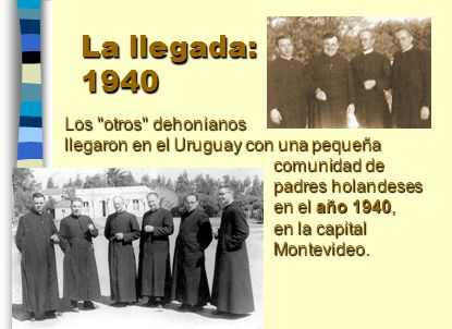 Ademàs de la Parroquia El Salvador, a lo largo de los primeros años asumieron: - una obra de promoción social, La Casilla, - el Hogar estudiantil León Dehon, - la Escuelita El Salvador y sobre todo - el Santuario de La Gruta de Lourdes.
