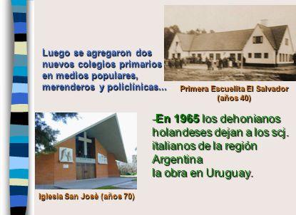 Luego se agregaron dos nuevos colegios primarios en medios populares, merenderos y policlínicas...