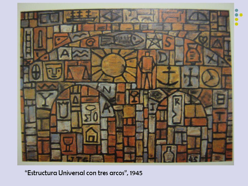 Estructura Universal con tres arcos, 1945