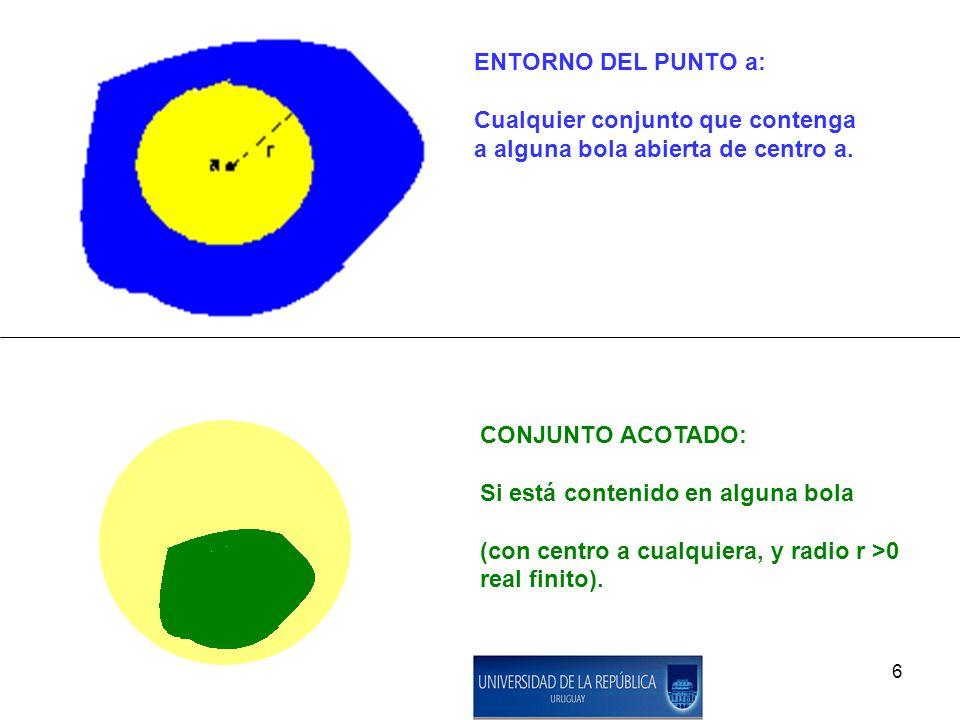 7 BOLA DE CENTRO a Y RADIO r CON OTRA NORMA (no usual):