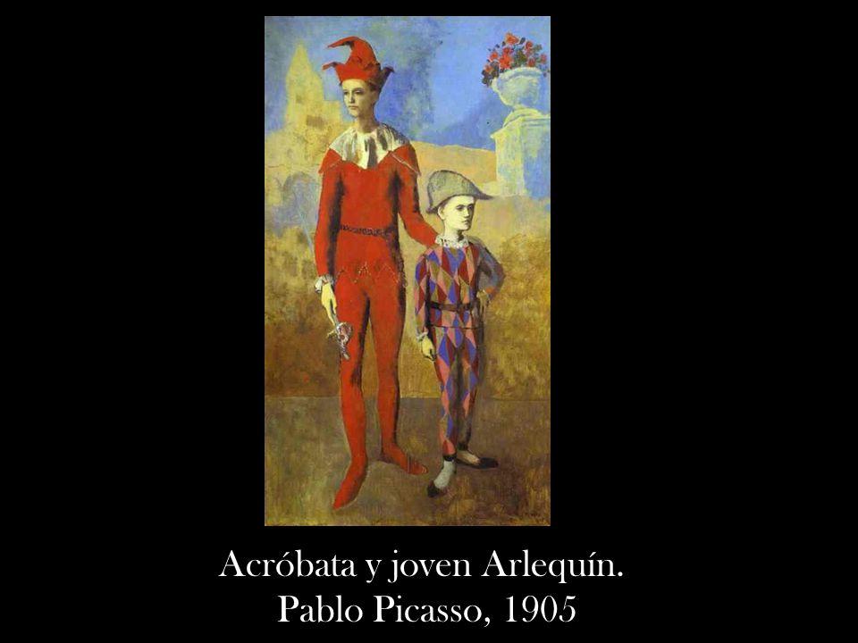 Acróbata y joven Arlequín. Pablo Picasso, 1905