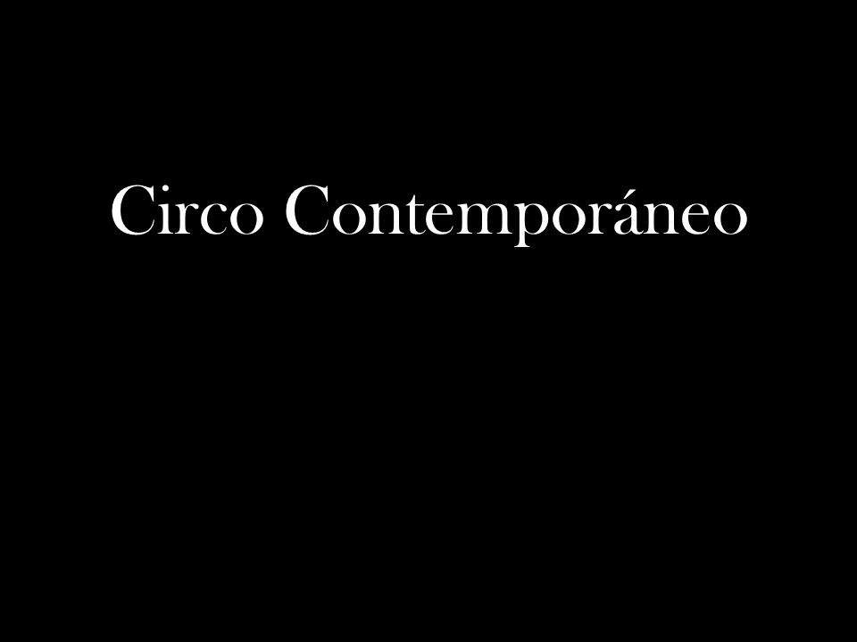 Circo Contemporáneo
