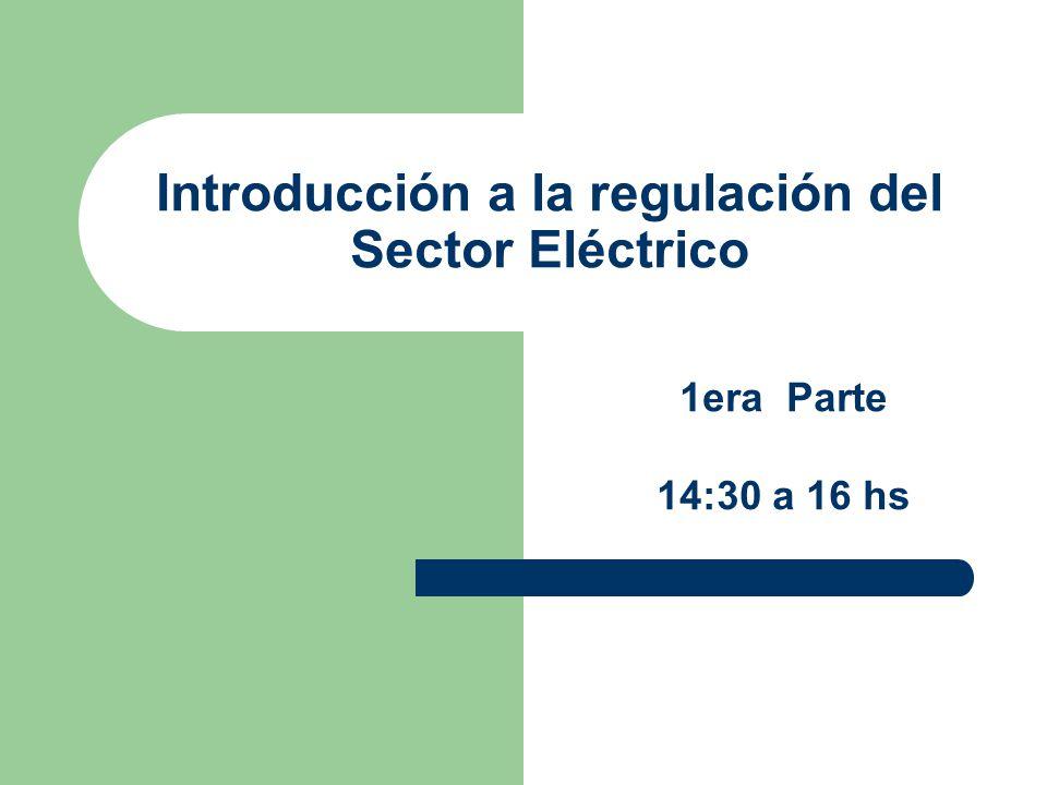 INSTITUTO DE INGENIERIA ELECTRICA FACULTAD DE INGENIERIA UNIVERSIDAD DE LA REPUBLICA LA REESTRUCTURA DE LA INDUSTRIA ELÉCTRICA Introducción a la regulación del Sector Eléctrico GRUPO DE TRABAJO EN SEP.