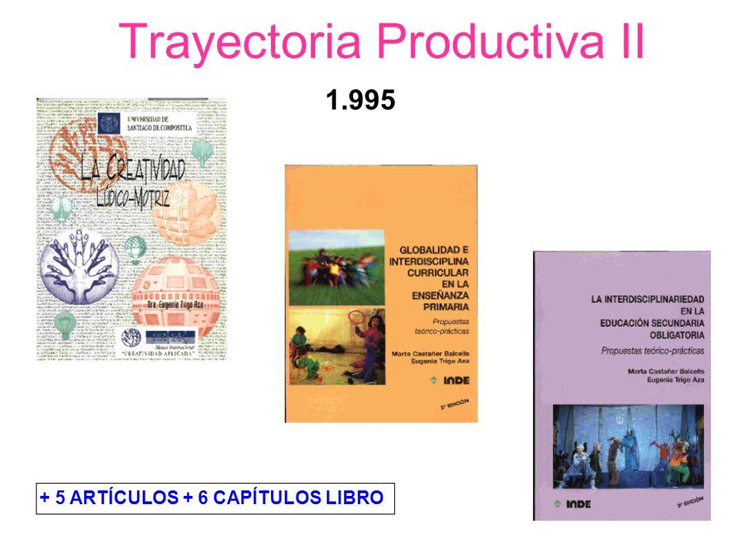 Trayectoria Productiva VI (2009 – 2010) COLECCIÓN LÉEME directora google.com