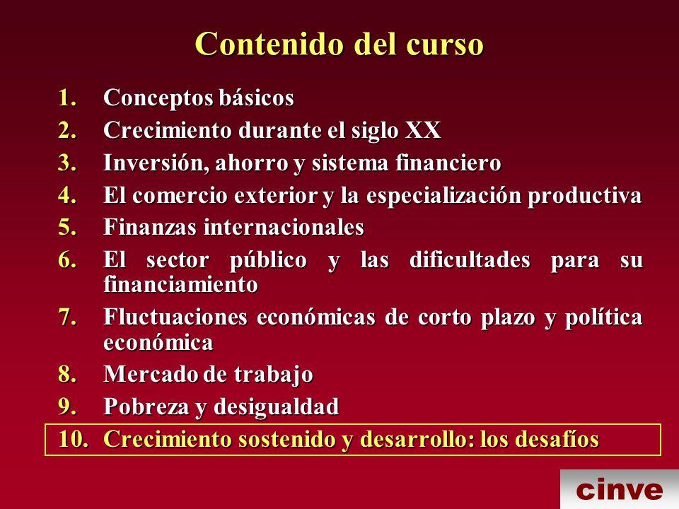cinve 6.¿Es posible atenuar los ciclos macroeconómicos de modo de no obstaculizar el crecimiento.