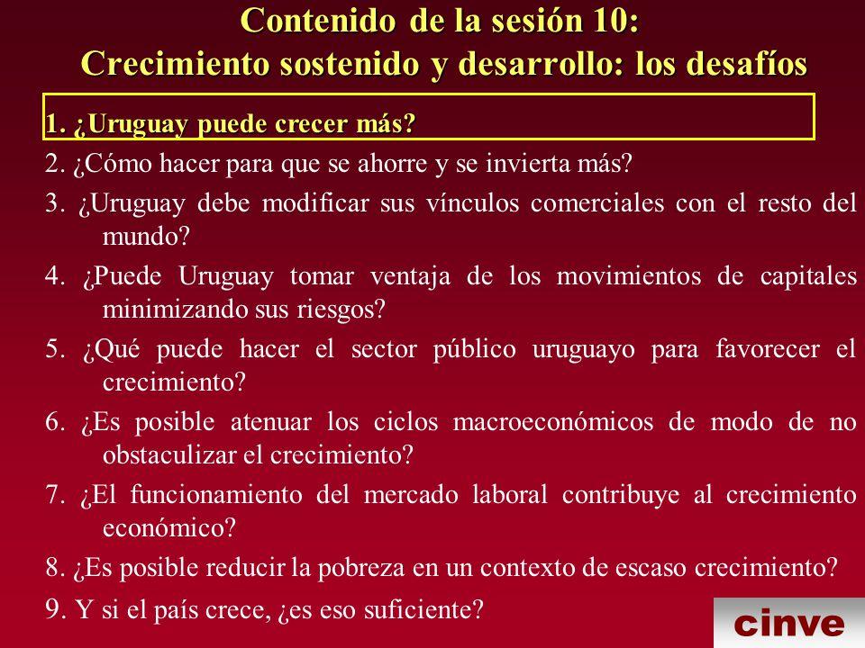 cinve 5.¿Qué puede hacer el sector público uruguayo para favorecer el crecimiento.