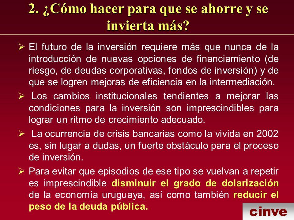 cinve 4.¿Puede Uruguay tomar ventaja de los movimientos de capitales minimizando sus riesgos.