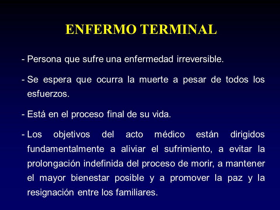 Paciente Terminal y Legislación Peruana Según el Dr.