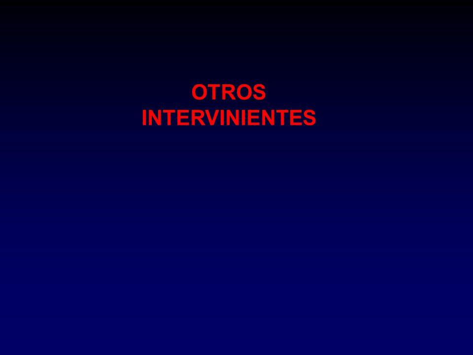 OTROS INTERVINIENTES