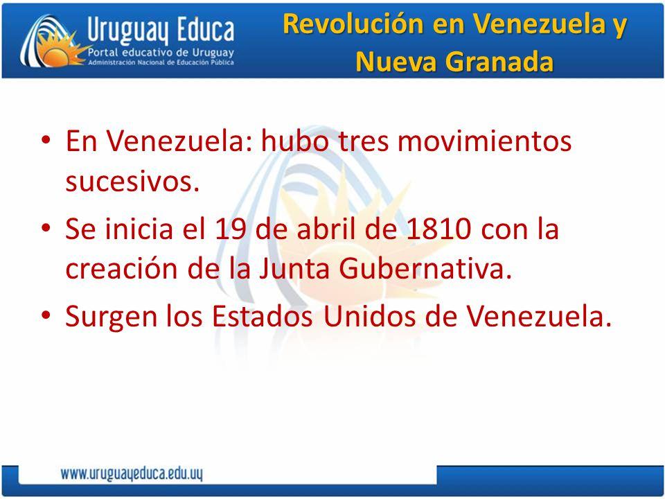 Revolución liberal en España En 1820 pierde el poder Fernando VII.