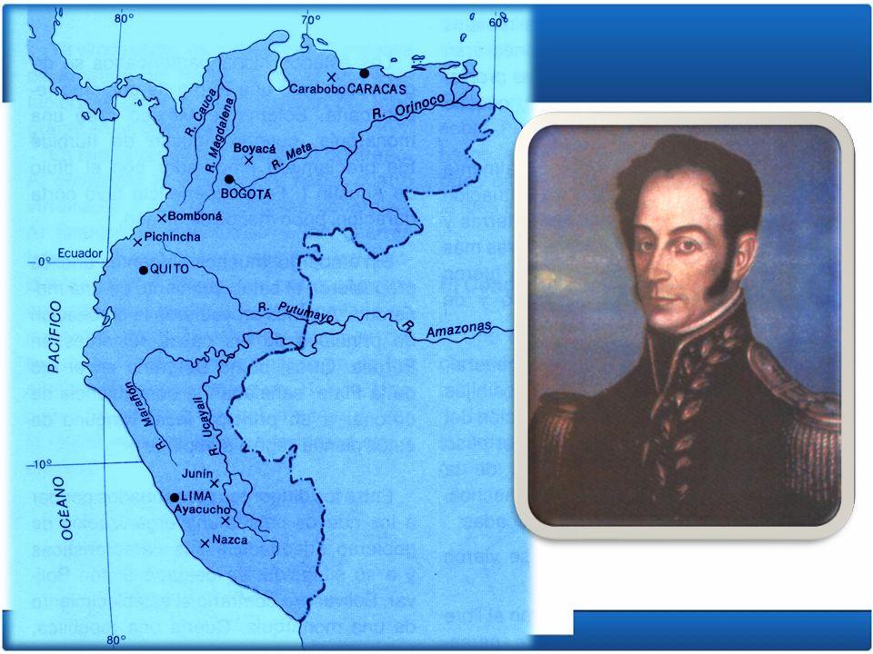 La reanudación de la revolución 1816: Simón Bolívar organiza un disciplinado ejército.