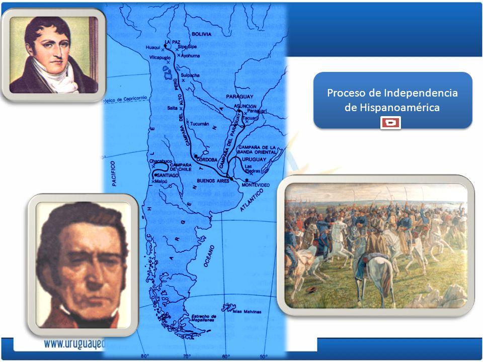 Revolución en el Río de la Plata Iniciada en Buenos Aires el 25 de mayo de 1810.
