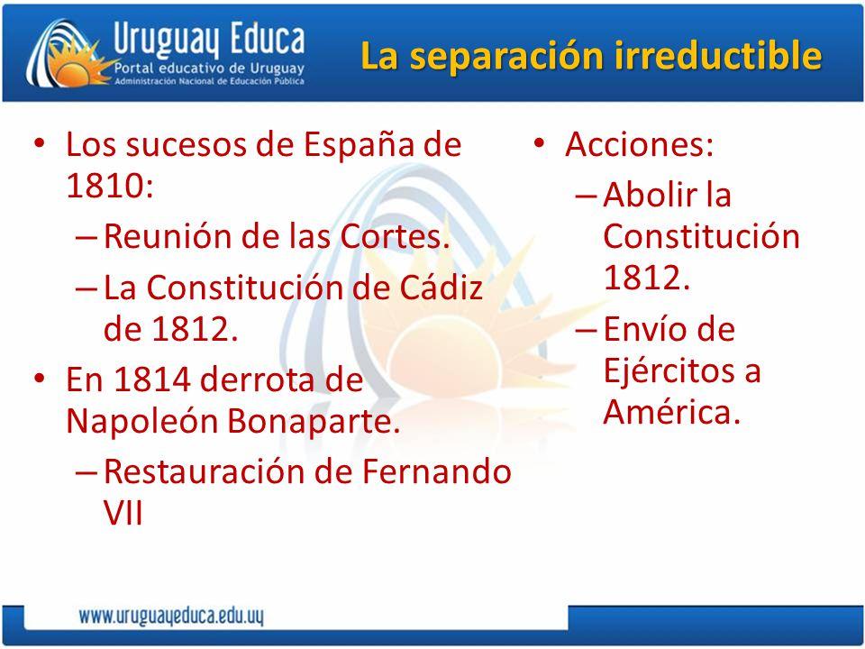 De las Juntas a la Independencia No fueron al principio separatistas.