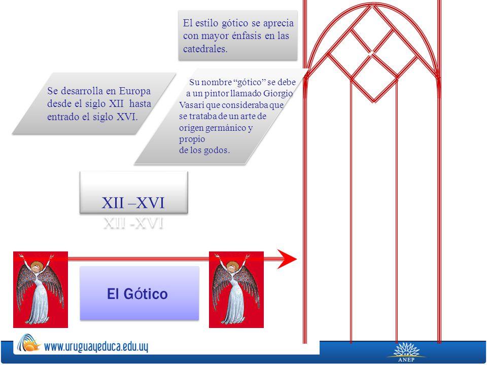 El G ó tico Se desarrolla en Europa desde el siglo XII hasta entrado el siglo XVI. Se desarrolla en Europa desde el siglo XII hasta entrado el siglo X