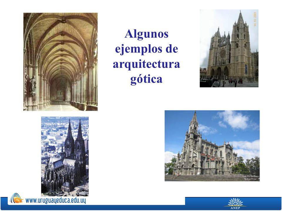 Algunos ejemplos de arquitectura gótica