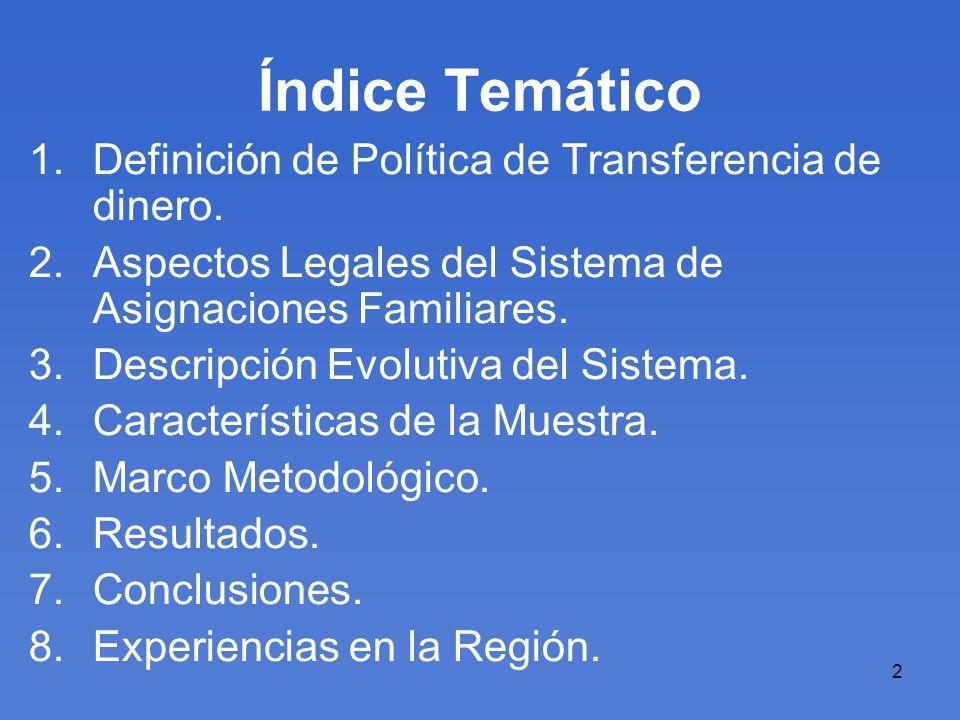 13 Índice Temático 1.Definición de Política de Transferencia.