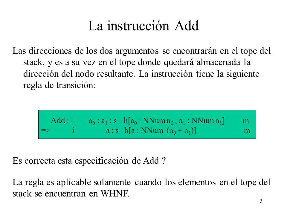 2 Introducción Ahora presentaremos cómo agregar operaciones primitivas a la máquina G.