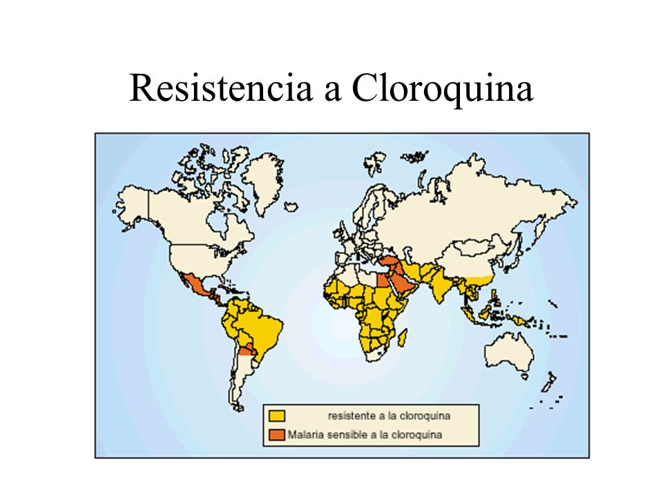 Resistencia a Cloroquina