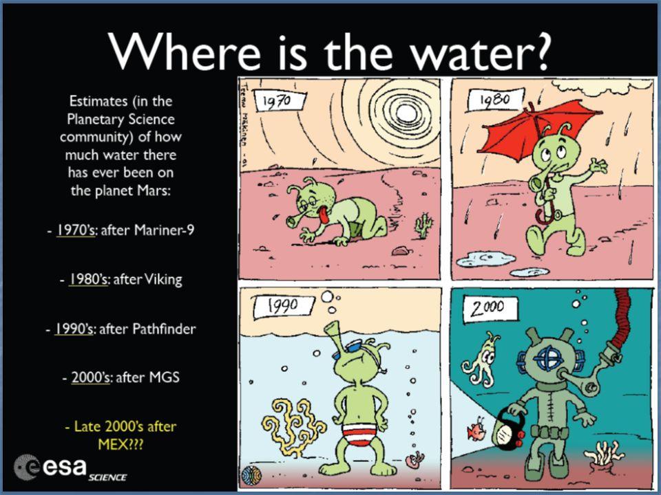 El efecto invernadero inverso Marte perdió parte de su atmósfera y ya no tiene agua líquida. El 80 % del CO 2 terrestre está en los océanos, cuidado c