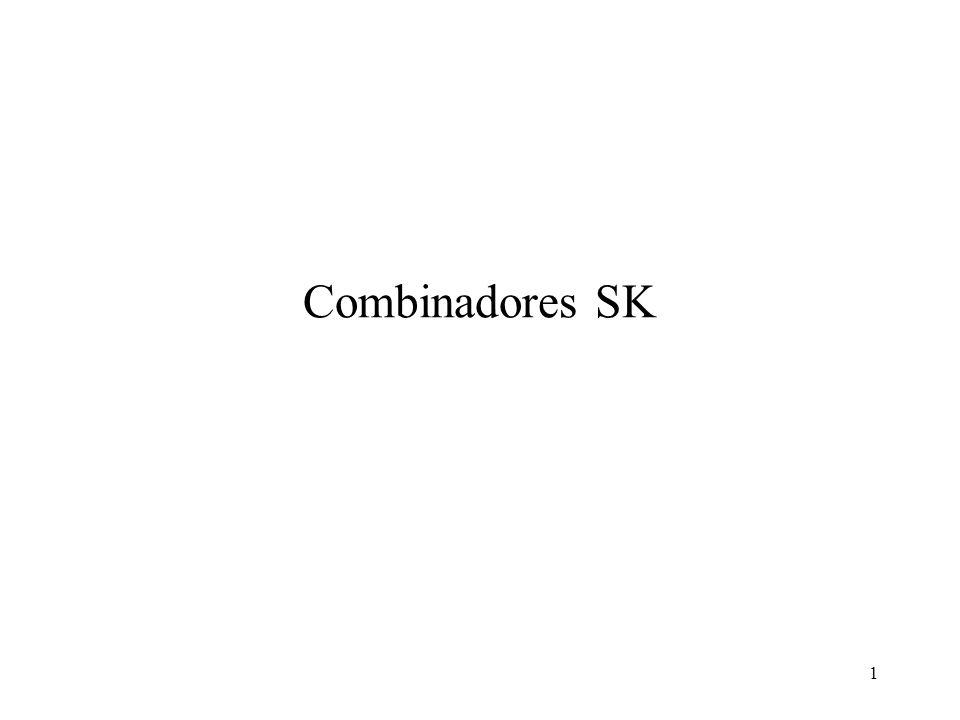1 Combinadores SK