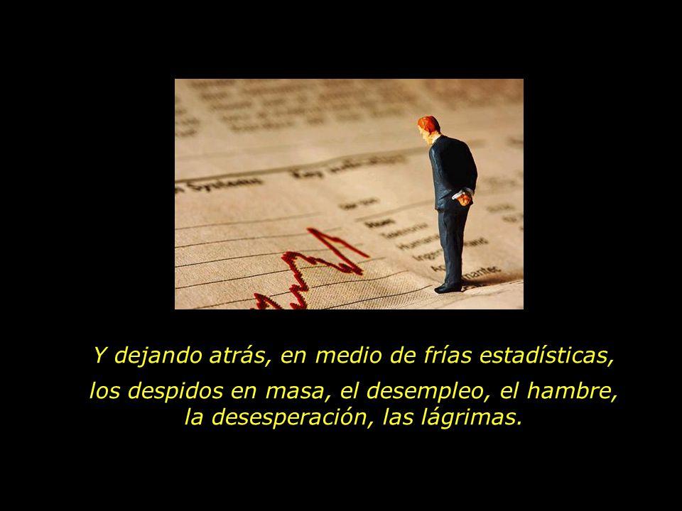 Un individualismo que se revela en el lenguaje cotidiano: Mi empleo, mi salario, mi casa, mi auto, mi familia...