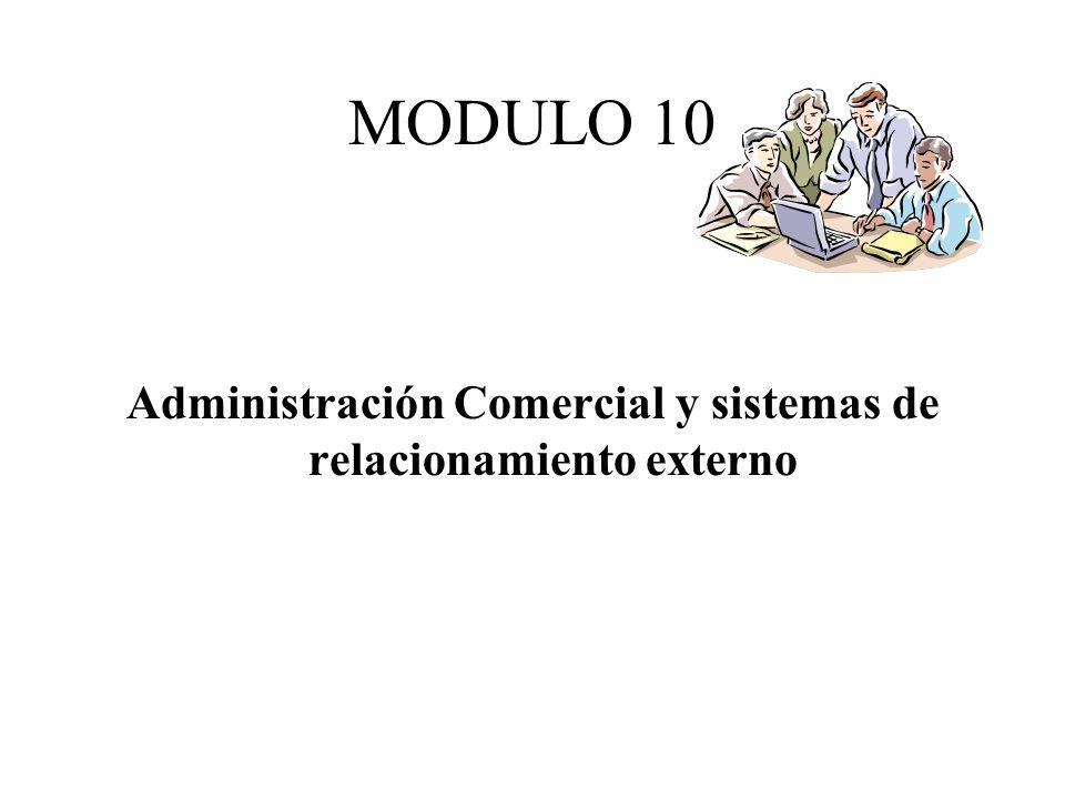 MODULO 10 Administración Comercial y sistemas de relacionamiento externo