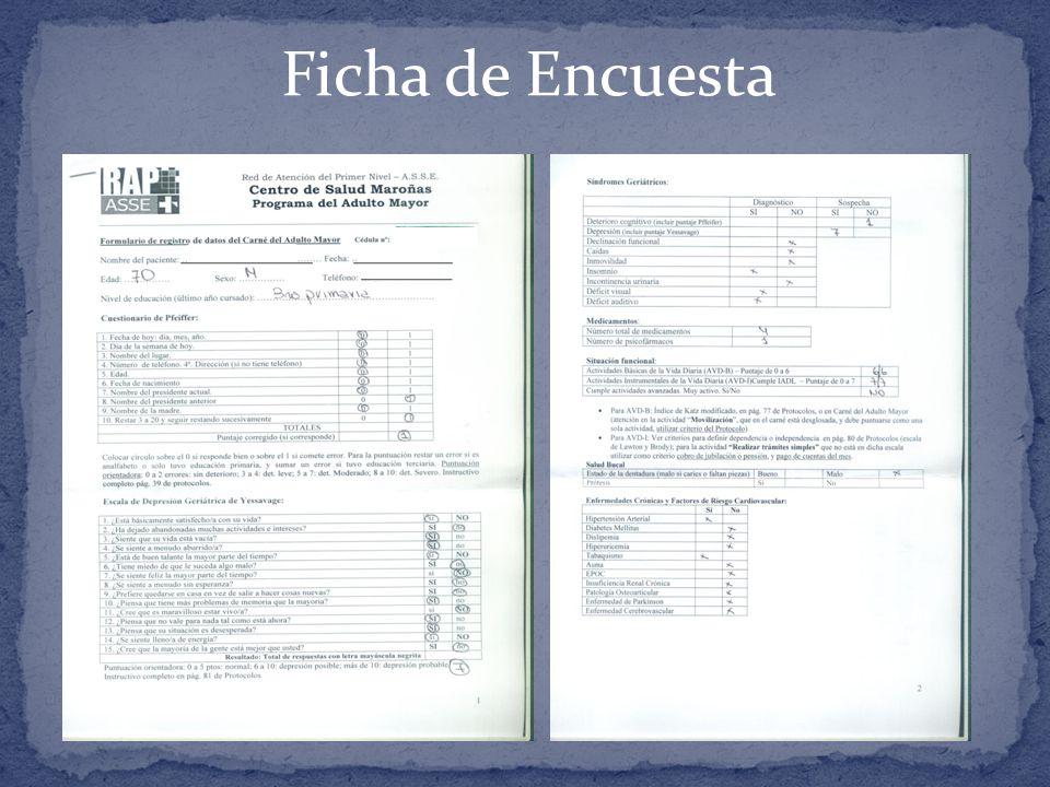 Ficha de Encuesta